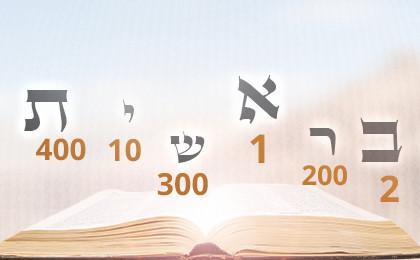 zählen in hebräisch